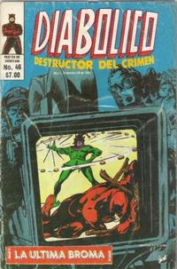 Cover Thumbnail for Diabolico (Novedades, 1981 series) #46