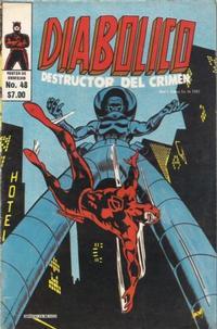 Cover Thumbnail for Diabolico (Novedades, 1981 series) #48