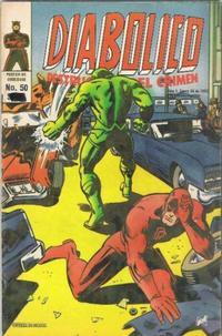 Cover Thumbnail for Diabolico (Novedades, 1981 series) #50