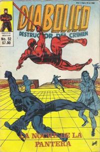 Cover Thumbnail for Diabolico (Novedades, 1981 series) #52