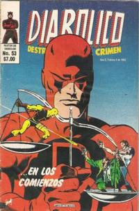 Cover Thumbnail for Diabolico (Novedades, 1981 series) #53