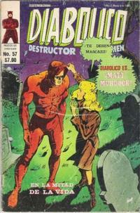 Cover Thumbnail for Diabolico (Novedades, 1981 series) #57
