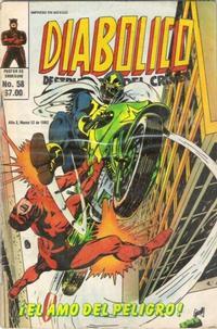 Cover Thumbnail for Diabolico (Novedades, 1981 series) #58