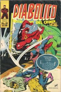 Cover Thumbnail for Diabolico (Novedades, 1981 series) #59