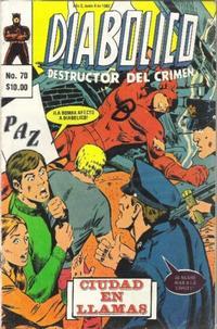 Cover Thumbnail for Diabolico (Novedades, 1981 series) #70