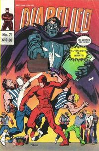 Cover Thumbnail for Diabolico (Novedades, 1981 series) #71