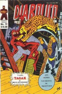 Cover Thumbnail for Diabolico (Novedades, 1981 series) #72