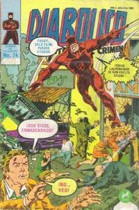 Cover Thumbnail for Diabolico (Novedades, 1981 series) #74