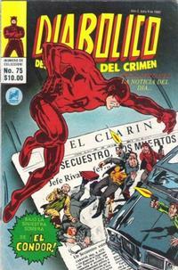 Cover Thumbnail for Diabolico (Novedades, 1981 series) #75