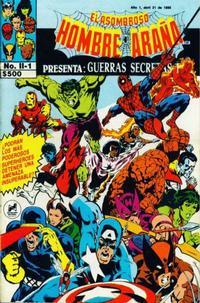 Cover Thumbnail for El Asombroso Hombre Araña Presenta (Novedades, 1988 series) #1