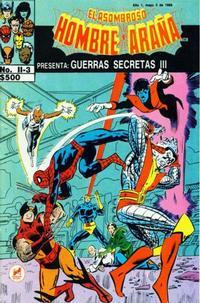 Cover Thumbnail for El Asombroso Hombre Araña Presenta (Novedades, 1988 series) #3
