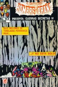 Cover Thumbnail for El Asombroso Hombre Araña Presenta (Novedades, 1988 series) #4