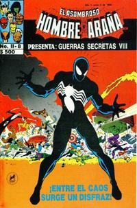 Cover Thumbnail for El Asombroso Hombre Araña Presenta (Novedades, 1988 series) #8