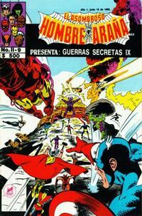 Cover Thumbnail for El Asombroso Hombre Araña Presenta (Novedades, 1988 series) #9