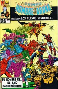 Cover Thumbnail for El Asombroso Hombre Araña Presenta (Novedades, 1988 series) #10