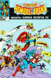 Cover Thumbnail for El Asombroso Hombre Araña Presenta (Novedades, 1988 series) #17