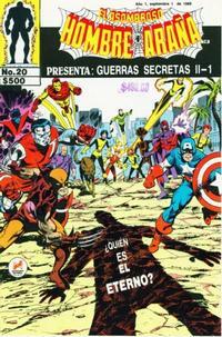 Cover Thumbnail for El Asombroso Hombre Araña Presenta (Novedades, 1988 series) #20