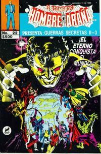 Cover Thumbnail for El Asombroso Hombre Araña Presenta (Novedades, 1988 series) #22
