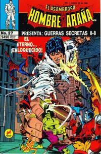 Cover Thumbnail for El Asombroso Hombre Araña Presenta (Novedades, 1988 series) #27