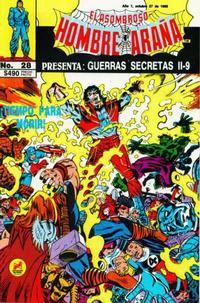 Cover Thumbnail for El Asombroso Hombre Araña Presenta (Novedades, 1988 series) #28