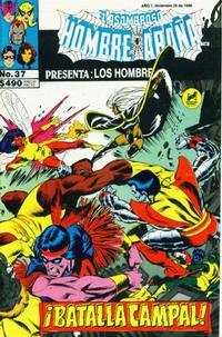 Cover Thumbnail for El Asombroso Hombre Araña Presenta (Novedades, 1988 series) #37