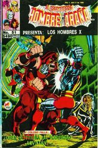 Cover Thumbnail for El Asombroso Hombre Araña Presenta (Novedades, 1988 series) #51