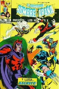 Cover Thumbnail for El Asombroso Hombre Araña Presenta (Novedades, 1988 series) #55