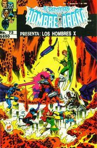Cover Thumbnail for El Asombroso Hombre Araña Presenta (Novedades, 1988 series) #73