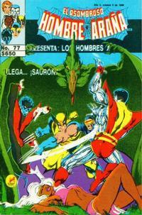Cover Thumbnail for El Asombroso Hombre Araña Presenta (Novedades, 1988 series) #77