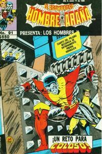 Cover for El Asombroso Hombre Araña Presenta (Novedades, 1988 series) #91