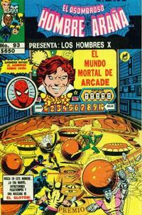 Cover Thumbnail for El Asombroso Hombre Araña Presenta (Novedades, 1988 series) #93