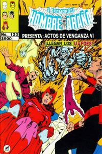 Cover Thumbnail for El Asombroso Hombre Araña Presenta (Novedades, 1988 series) #123