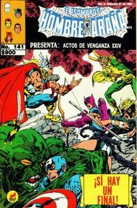 Cover Thumbnail for El Asombroso Hombre Araña Presenta (Novedades, 1988 series) #141