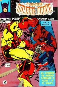 Cover Thumbnail for El Asombroso Hombre Araña Presenta (Novedades, 1988 series) #145