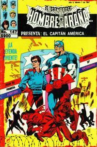 Cover Thumbnail for El Asombroso Hombre Araña Presenta (Novedades, 1988 series) #147