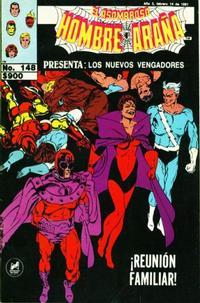 Cover Thumbnail for El Asombroso Hombre Araña Presenta (Novedades, 1988 series) #148