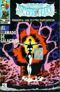 Cover Thumbnail for El Asombroso Hombre Araña Presenta (Novedades, 1988 series) #206
