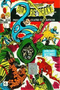 Cover Thumbnail for El Asombroso Hombre Araña Presenta (Novedades, 1988 series) #210