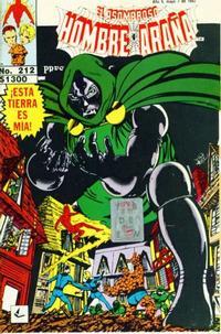 Cover Thumbnail for El Asombroso Hombre Araña Presenta (Novedades, 1988 series) #212