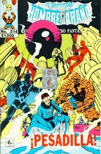 Cover Thumbnail for El Asombroso Hombre Araña Presenta (Novedades, 1988 series) #214