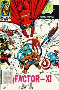 Cover Thumbnail for El Asombroso Hombre Araña Presenta (Novedades, 1988 series) #218