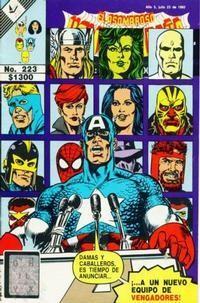 Cover Thumbnail for El Asombroso Hombre Araña Presenta (Novedades, 1988 series) #223
