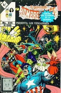 Cover Thumbnail for El Asombroso Hombre Araña Presenta (Novedades, 1988 series) #225