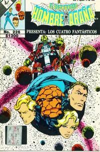 Cover Thumbnail for El Asombroso Hombre Araña Presenta (Novedades, 1988 series) #226