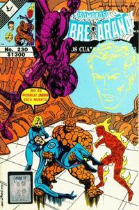 Cover Thumbnail for El Asombroso Hombre Araña Presenta (Novedades, 1988 series) #230