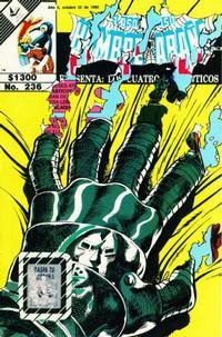 Cover Thumbnail for El Asombroso Hombre Araña Presenta (Novedades, 1988 series) #236