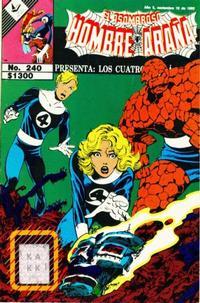Cover Thumbnail for El Asombroso Hombre Araña Presenta (Novedades, 1988 series) #240