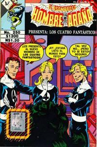 Cover Thumbnail for El Asombroso Hombre Araña Presenta (Novedades, 1988 series) #250