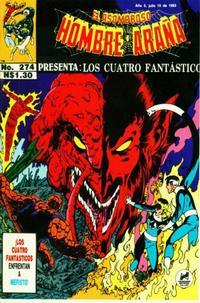 Cover Thumbnail for El Asombroso Hombre Araña Presenta (Novedades, 1988 series) #274