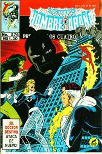 Cover Thumbnail for El Asombroso Hombre Araña Presenta (Novedades, 1988 series) #276
